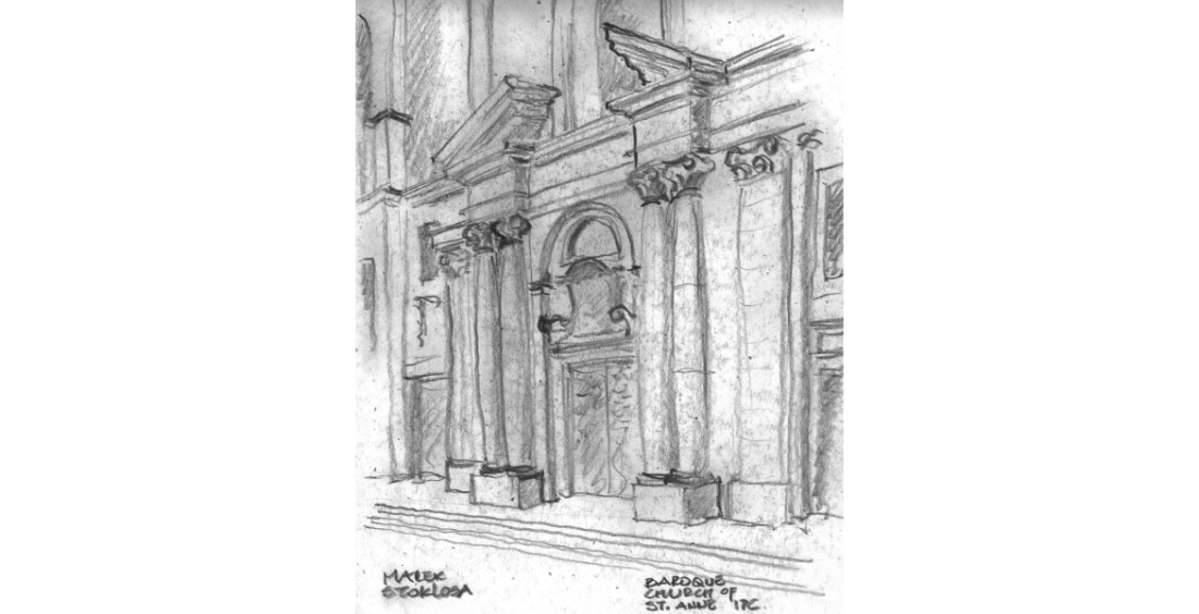 01SKETCH-17TH-CENTURY-CHURCH-OF-ST.-ANNE-KRAKOW1-e1389936706513-1100x564.jpeg