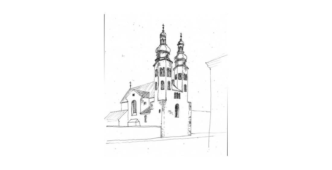 05SKETCH-ROMANESQUE-ST.-ANDREWS-CHURCH-11-CENTURY-KRAKOW-1-e1389936984145-1100x564.jpeg